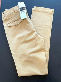 29 x 31 Inflation Flyhawk Tan Men's Chino Pants New NWT Tape