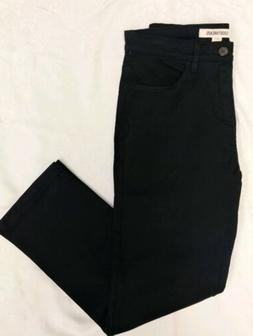 GOODTHREADS 30x28 Men's Black Straight Leg Khakis Chinos Pan
