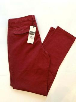 34 x 31 Inflation Flyhawk Maroon Red Men's New NWT Pants Chi
