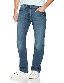Nautica Men's 5 Pocket Relaxed Fit Stretch Jean, Gulf Stream