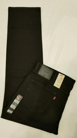 Levi's 511 Slim Denim Pants - Men's Black Stretch, 30x32