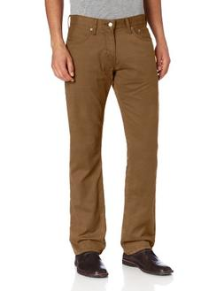 Levi's Men's 514 Straight Fit Soft Washed Twill Pant, Carawa