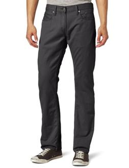 Levi's Men's 514  Straight Leg Twill Pant, Graphite, 34x34