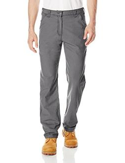 Carhartt Men's Rugged Flex Rigby Dungaree Pant, Gravel, 38W