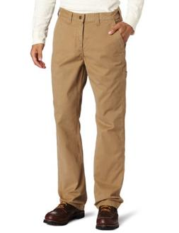 Carhartt Men's Rugged Work Khaki Relaxed Fit,Dark Khaki,34 x