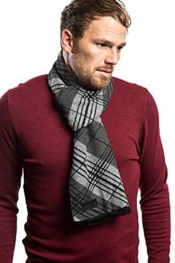 Marino's Winter Cashmere Feel Men Scarf,100% Cotton Fashio