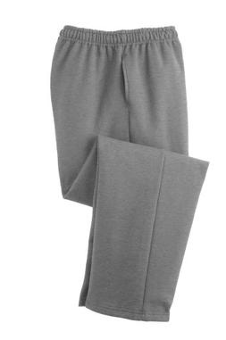 Adult Soft and Cozy Classic Style Open Bottom Sweatpants in