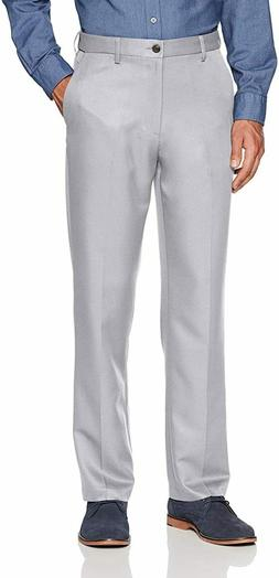 Amazon Essentials Mens Expandable Waist Classic-Fit Flat-Fro