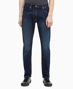 Calvin Klein Men's Athletic Taper Fit Jeans, Austin Dark Blu