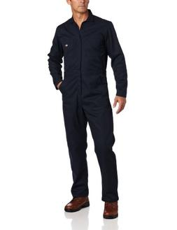 Dickies Basic Twill Long-sleeved Coveralls Dark Navy, DARK N