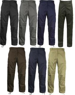 BDU Cargo Pants  Military Fatigue Solid Color Rothco 7901 78