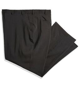 VAN HEUSEN Big&Tall Traveler Stretch Flat Front Dress Pants