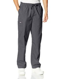Men's Cherokee Big & Tall Drawstring Pant - Pewter L, Pewter