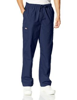 Men's Cherokee Big & Tall Drawstring Pant - Navy S, Navy
