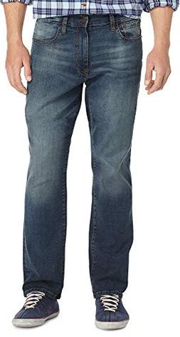 Izod Men's Big & Tall Comfort Stretch Relaxed Fit Jean,  Lex