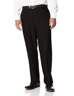 Haggar Men's Repreve Stria Hidden Expandable Waist Plain Fro