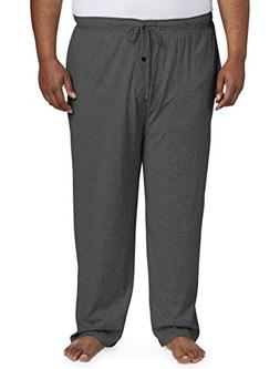 Amazon Essentials Men's Big and Tall Knit Pajama Pant fit by