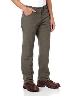 Dickies Men's Big-Tall Relaxed Fit Duck Jean, Moss, 50x30
