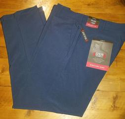 Van Heusen Blue/Navy Flex  Slim Fit Pants Mens 34X30 NWT