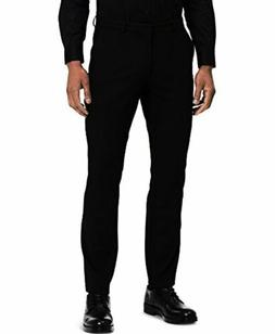 Calvin Klein Men's Infinite End Bi-Stretch Pants, Black, 28W