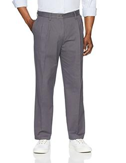 Amazon Essentials Men's Classic-Fit Wrinkle-Resistant Pleate