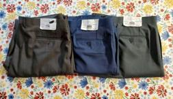COLLECTION BY MICHAEL STRAHAN MEN'S FLAT FRONT DRESS PANTS