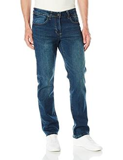 Izod Men's Comfort Stretch Denim Jeans , Indigo Blast, 34Wx3