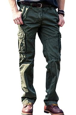 INFLATION Confortable Cargo Pants Work Trousers Combat Pants