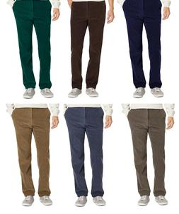 IZOD CORDUROY STRAIGHT FIT PANTS 30 32 33 34 35 36 38 40 42