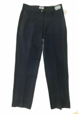 Lee Custom Fit Mens Blye Relaxed Fit Flat Front Pants with F