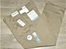 Dockers Easy Khaki Pants Classic Fit Pleated Stretch No Wrin