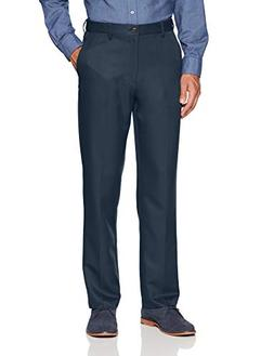 Amazon Essentials Men's Expandable Waist Classic-Fit Flat-Fr