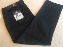 Van Heusen FLEX 5-Pocket Slim Mens Jeans/Pants 40x32 Black