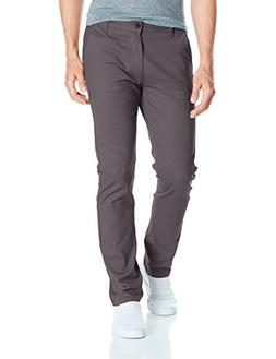 Southpole Men's Flex Stretch Basic Long Chino Pants, Dark Sl