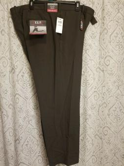 Van Heusen Flex Waist Band Dress Pants Men's Size 40 X 30 Gr