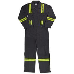 Oil and Gas Safety Supply Men's FR Reflective Coverall 42Sma