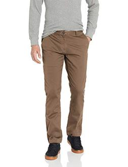 Volcom Men's Frickin Modern Fit Stretch Chino Pant, Mushroom