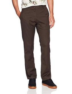 Volcom Men's Frickin Regular Chino Pant, Espresso, 31