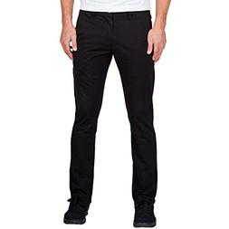 Volcom Men's Frickin Slim Chino Pant Black