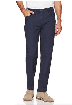 Goodthreads Men's Athletic-Fit 5-Pocket Chino Pant, Navy, 35