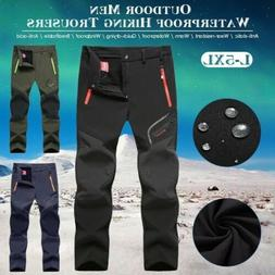 Hiking Pants Mens Outdoor Waterproof  Sports Trousers Campin
