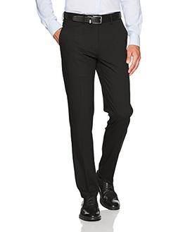 Haggar Men's J.M. Stretch Superflex Waist Slim Fit Flat Fron