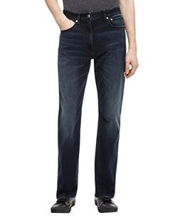 Calvin Klein Jeans Men's CKJ 037 Relaxed Straight Fit, Bosto