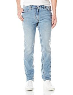 Calvin Klein Jeans Men's Slim Straight, Chill Wash, 32x30
