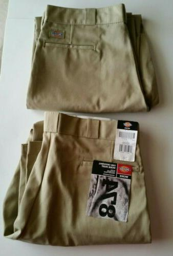 Dickies 874NV 32 28 Mens Plain Front Work Pant Navy Chambray