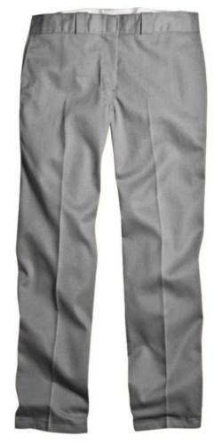 Dickies 874SV 36 28 Mens Plain Front Work Pant Silver 36 - 2