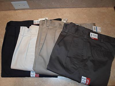 IZOD American Chino Classic-Fit Wrinkle-Free Pleated Pants -