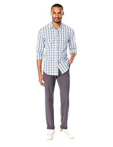 Goodthreads Men's Athletic Fit 5-Pocket Chino Pant, 34W