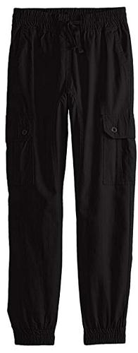 Southpole Big Boys' Jogger Pants Washed Ripstop Fabric with