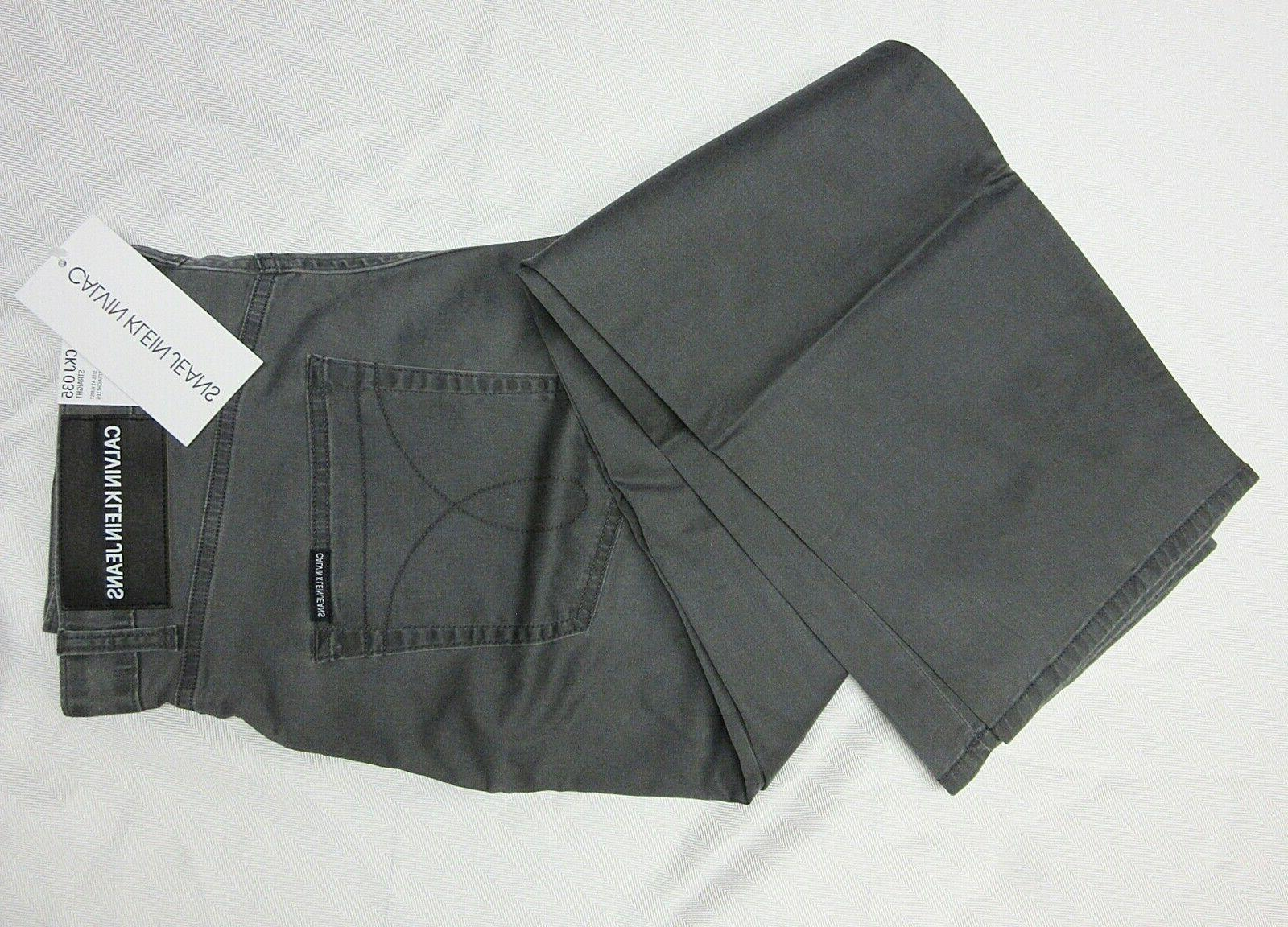 CK Calvin Mens 5 Stretch Casual Pants Size NWT